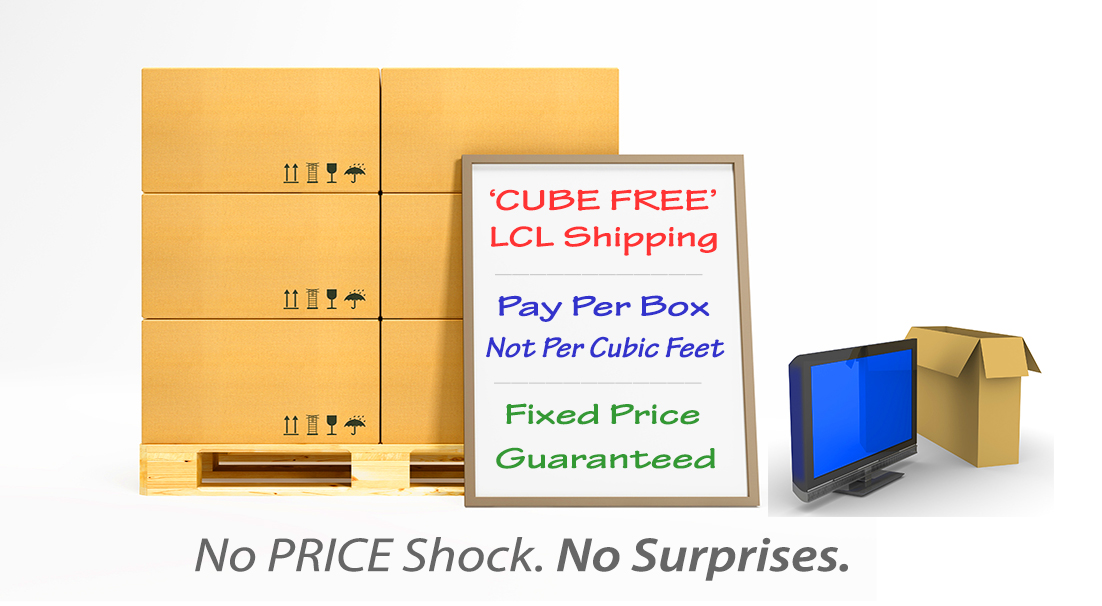 Cube Free Shipping to India.