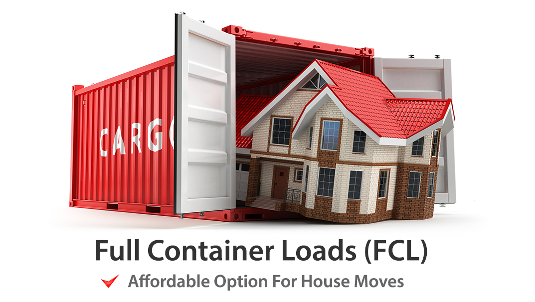 FCL Shipping to India.
