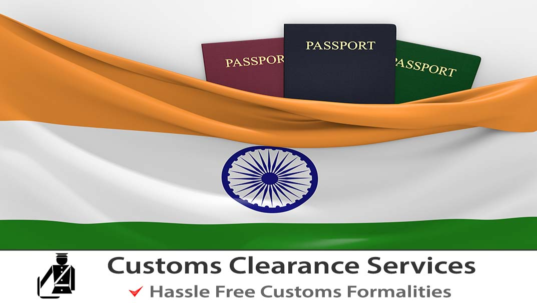 Customs clearance for Shipping to India.