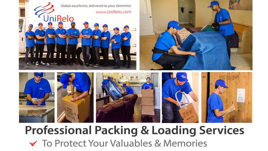 Packing and Loading Services for Shipping to India.