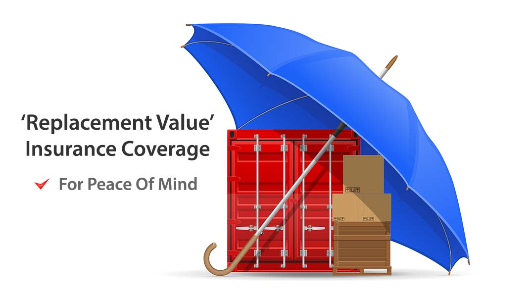 Replacement Value Insurance for Shipping to India